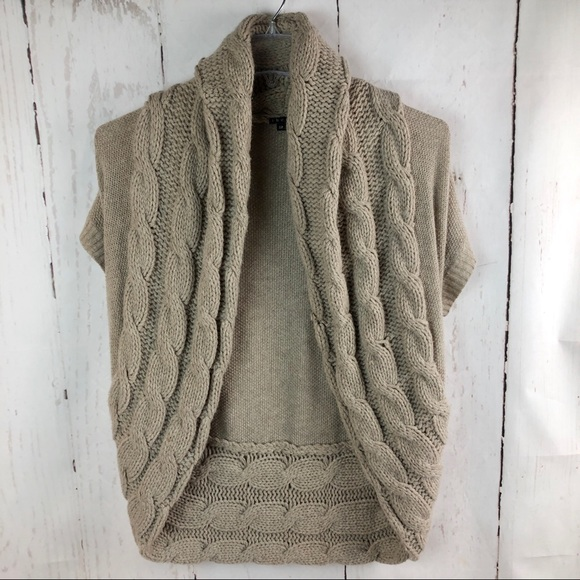 4363b2a0a5b Theory Sweaters | Cable Knit Shrug Size S | Poshmark
